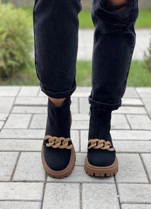 Ботинки/замш