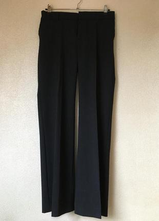 Темно-серые костюмные брюки