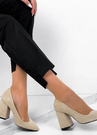 Р. 36-40 замшевые туфли