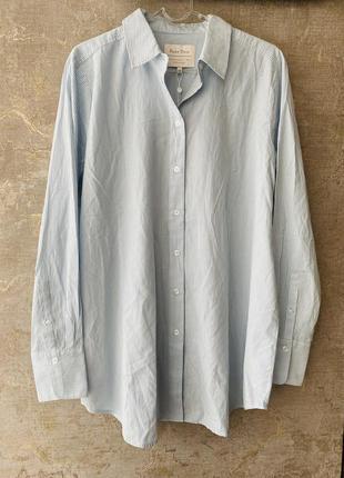 Новая женская удлиненная рубашка блузка
