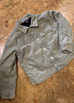 Теплая вельветовая куртка