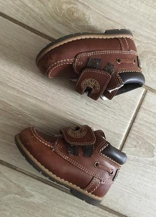 Ботинки кожа ортопедическая стелька