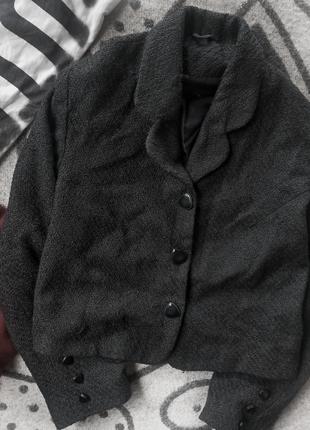 Модный пиджачок с шерстью