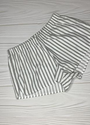 Пижамные шорты полосатые новые