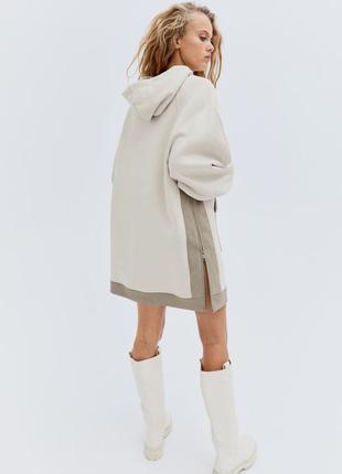 H&m новая коллекция длинное худи