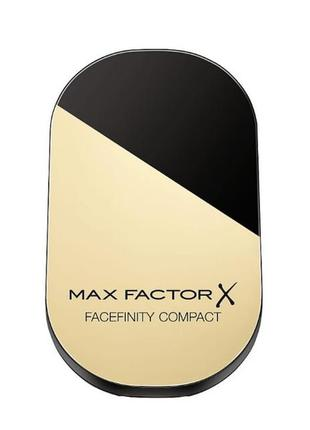 Кoмпактная пудра max factor x facefinity compact foundation spf20