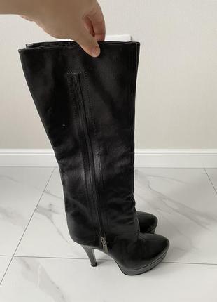 Шкіряні чоботи marco rizzi