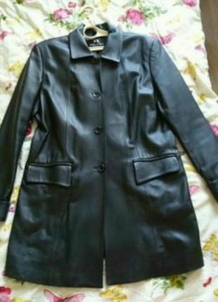 Пиджак куртка натуральная кожа