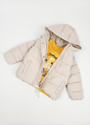 Тепленька куртка для дівчинки primark розміри 2-3, 3-4, 4-5, 5-6, 6-7, 7-8 років