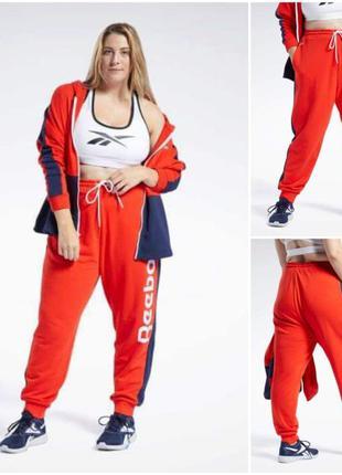 Костюм для спорта и отдыха штаны толстовка reebok w16, w18, w22, w24 xxl-5xl