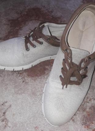 Туфли кроссовки эко очень легкие