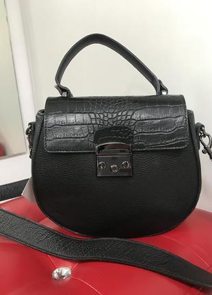 Кожаная сумочка сумка кроссбоди сумочка на плечо италия 🔥🔥