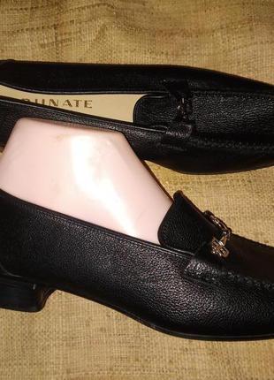 41р-27 см кожа туфли  brunate made in italy