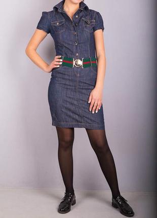 Джинсовое платье от gucci