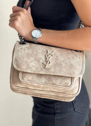 🖤🖤🖤сумка в стиле yves saint laurent niki baby bag in vintage