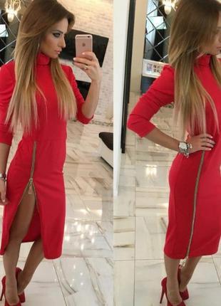 Стильное платье с размером