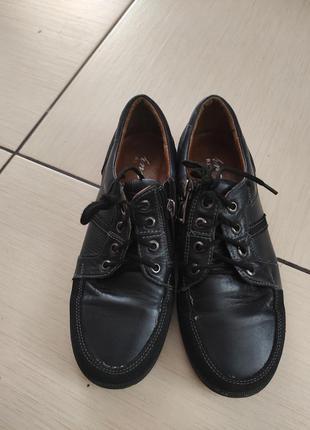 Кожанные туфли, мокасины на мальчика