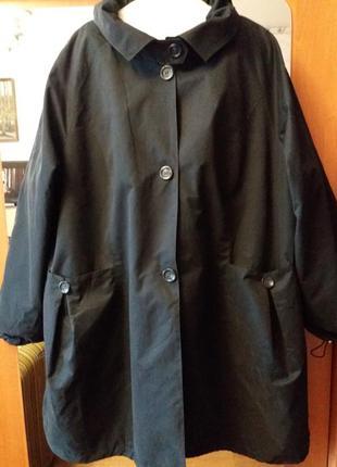 Новая утепленная куртка плащ р. 28-30