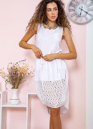 Платье цвет белый 167r008-1 64864