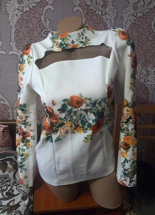 Блузка -кофта р s