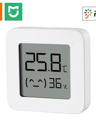 🧠xiaomi ☀️🌧mijia🔥bluetooth thermometer 2 новая версия умного термометра-гигрометра