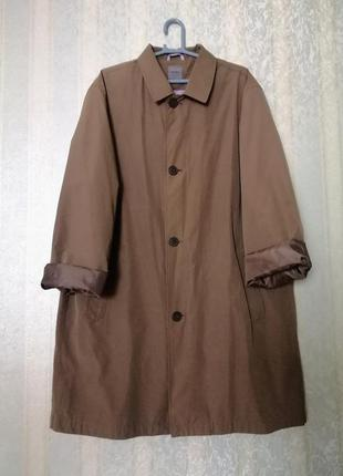 Шикарный плащ montego, мужское пальто