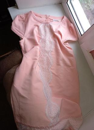 Платье вышиванка свободного кроя