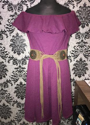 Бомбовое платье 22 размер