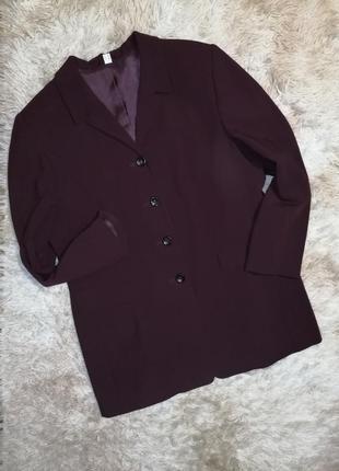 Фирменная курта пиджак батал на пышные формы большой размер