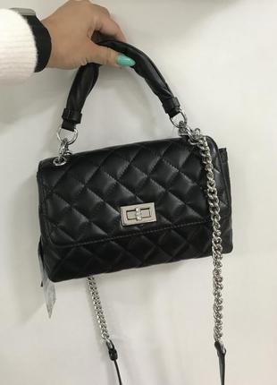 Кожаная сумочка кроссбоди сумочка на плечо италия 🔥