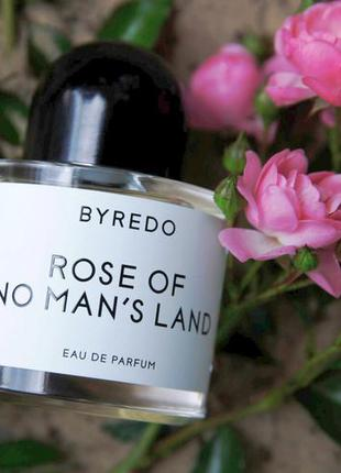 Byredo rose of no mans land оригинал затест распив и отливанты аромата
