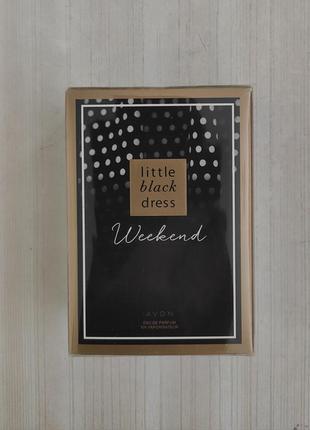 Avon little black dress weekend 50ml новые