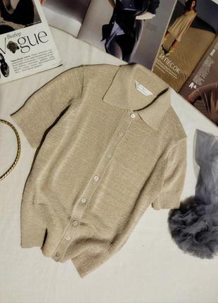 !! распродажа!! базовый бежевый свитер без рукавов!!