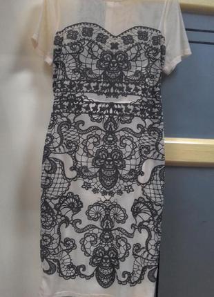 Платье amy childs.