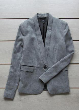 Серый пиджак блейзер от next