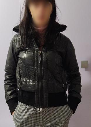 Motor jeans ветровка осенняя куртка курточка черная