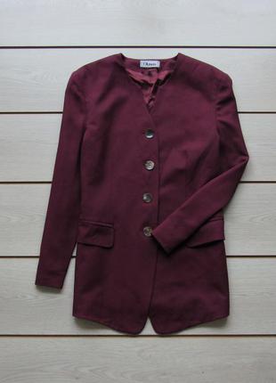 Удлиненный пиджак блейзер на пуговицах от oktavia