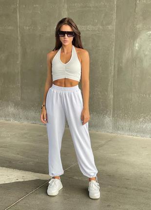 Женские повседневные спортивные штаны двунить