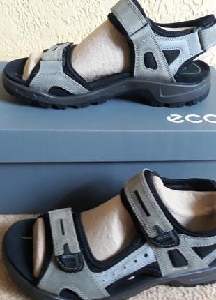 Ecco offroad, мужские сандалии. оригинал.кожа сезонная распродажа..