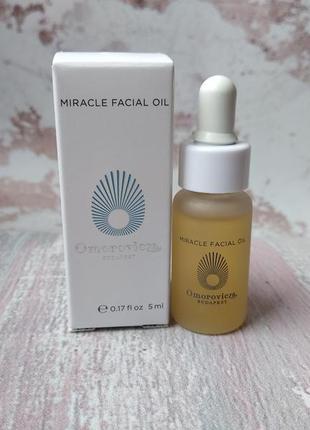Олійка для обличчя omorovicza miracle facial oil