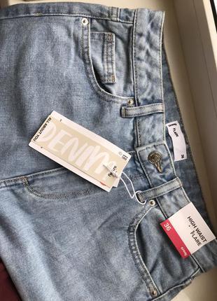 Новые джинсы , стильный фасон