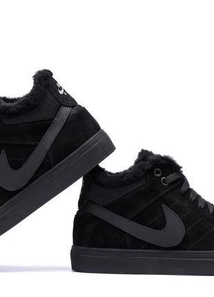 Шкіряні зимові черевики nike