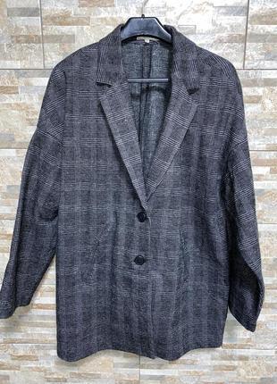 Шикарный женский удлинённый пиджак /пальто madewell