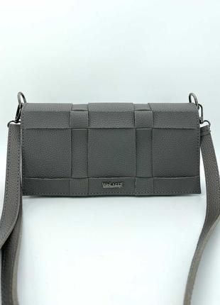 Женская сумка. жіноча сумка (сіра).