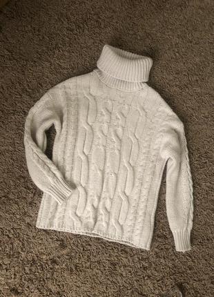 Трендовий светер гольф роз xs-s🔥🔥🔥