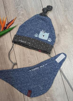 Комплект шапочка и шарф