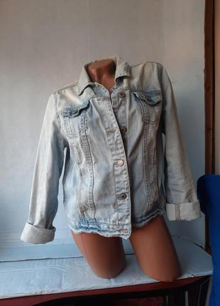 Курточка женская джинсовая,  жакет женский джинсовый,  пиджак женский джинсовый