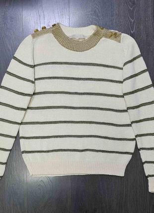 Объёмный свитер vanessa bruno размер 38 оригинал