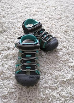 Брендовые сандали мальчику vertbaudet 26 в отличном состоянии