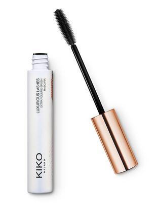 Тушь для ресниц для экстра объёма luxurious lashes extra volume kiko milano